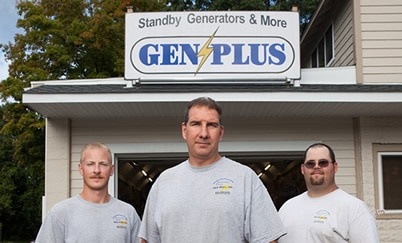 The Gen-Plus technicians.