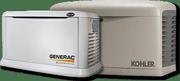 Generac & Kohler generators