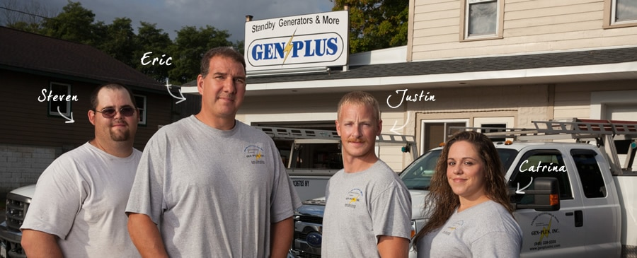 Your Home generator support team.